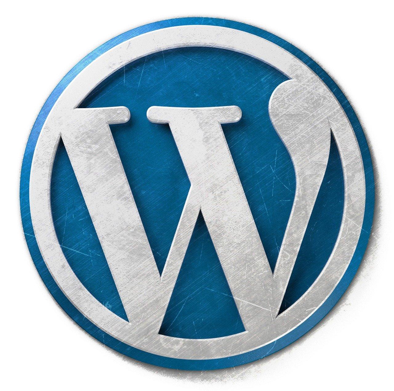 wordpress, wordpress logo, wordpress icon